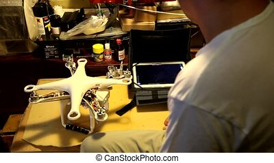 service Aerial drone, Quadcopter - service Aerial drone,...