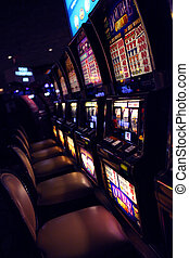 Slot casino - Slot machines in the casino in Las Vegas