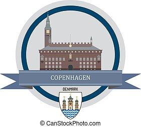 Copenhagen ribbon banner