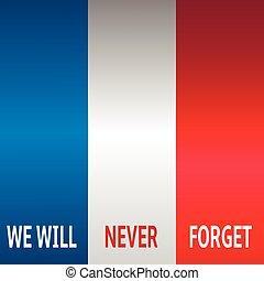France flag background - Background national flag of france....