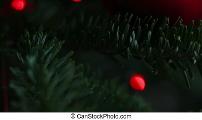 Christmas Tree Decoration, Red Ball - New Year and Christmas...