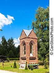 Kaszubski ethnographic park in Wdzydzki Park Krajobrazowy,...