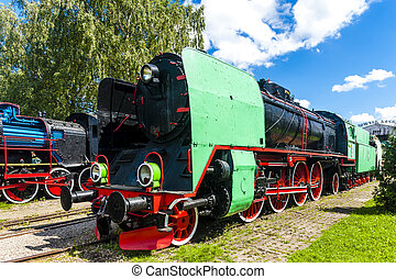 railway museum, Koscierzyna, Pomerania, Poland
