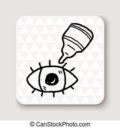 eye drop doodle