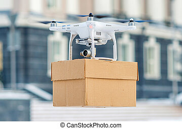Drone is a tool for delivery - Drone is a great tool for...