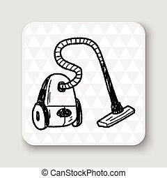 vacuum doodle