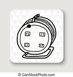 Extension cord doodle