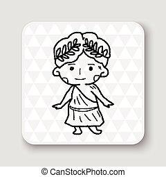 Greek doodle