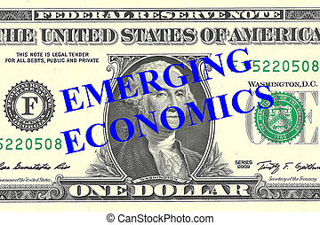 Emerging Economics concept - Render illustration of Emerging...