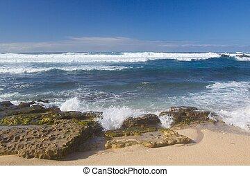 Waves And Coastline