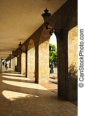 Los Portales in downtown Guadalajara, Jalisco, Mexico