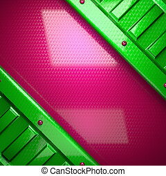 pink and green bright background