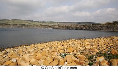 Kimmeridge Bay Dorset near Lulworth - Kimmeridge Bay east of...