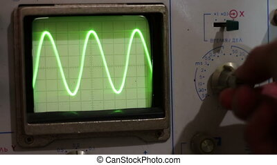 Configuring signal oscilloscope - Radio master engineer...