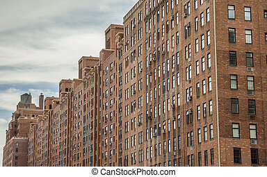 Apartment building in Chelsea, New York
