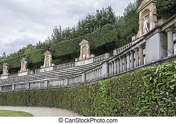 Palazzo Pitti, Florence, Italy - Florence,Italy-August...