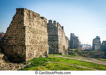 Walls of Thessaloniki - The Walls of Thessaloniki were...