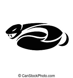snake tattoo - This is an illustration of snake tattoo