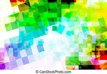 Multicolor background - abstract multi color background with...