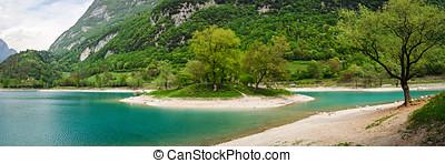 Tenno lake Trentino Alto Adige Italy