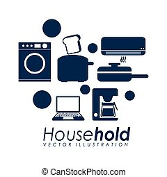 house hold design, vector illustration eps10 graphic