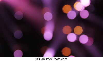 Bokeh Lights - Blurred lights background
