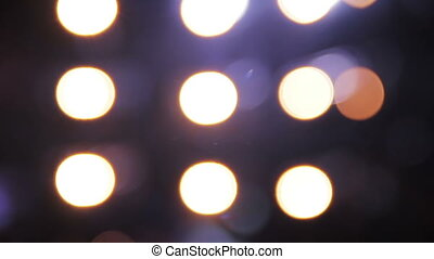 Colorful Bokeh Lights - Blurred lights background