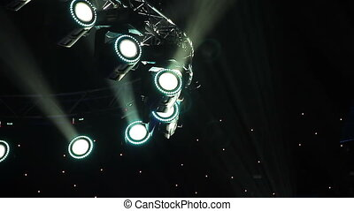 Concert lights - Lighting Equipment, Illuminated, Stage -...