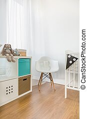 Beauty room for little child - Interior of beauty room for...