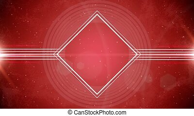 Abstract rhombus solid animation - Abstract rhombus solid...