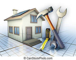 Home maintenance - Some tools used for home maintenance...