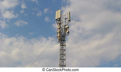 Base station antennas of cellular communication