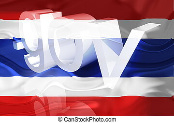 Flag of Thailand wavy government - Flag of Thailand,...
