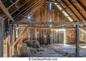 Abandoned Barn, Color Image, USA