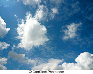 cloud on sky at spring