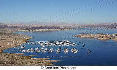 Lake Mead in Nevada - Lake Mead National Recreation near...