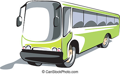 bus	 - Illustration of a transport bus
