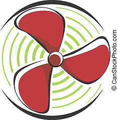 Fan - Illustration of a fan using for cooling in engines