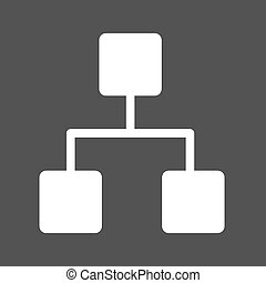 Settings Ethernet - Technology, network, cables icon vector...