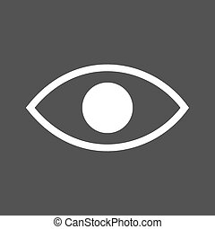 Visibility, search, eye icon vector imageCan also be used...
