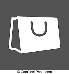 Hand Carry Bag - Briefcase, hand, business icon vector...