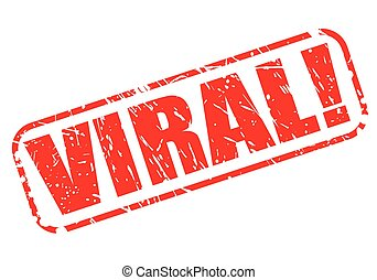 VIRAL red stamp text