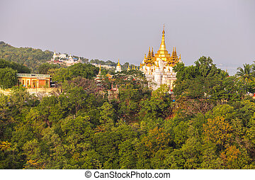 mandalay - Ancient city of Sagaing, Mandalay, Myanmar