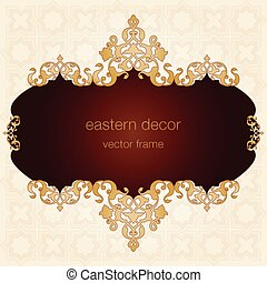 Antique Ottoman borders and frames - Borders and frames are...