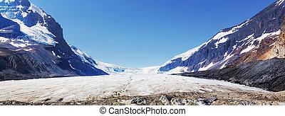 Athabasca glacier - Athabasca Glacier in Jasper National...