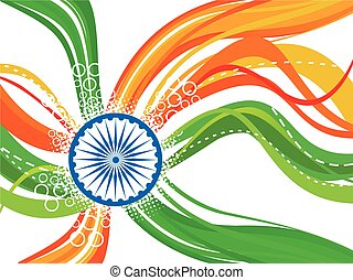 abstract colorful independence day background.eps