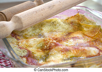 lasagne with genoese pesto - white lasagne with genoese...