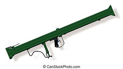 Bazooka Anti-Tank Weapon - A typical bazooka anti tank...
