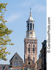 New Tower of Kampen, Netherlands - New Tower with carillon...