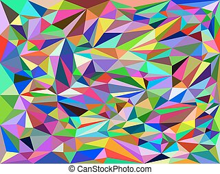 The abstract background 2